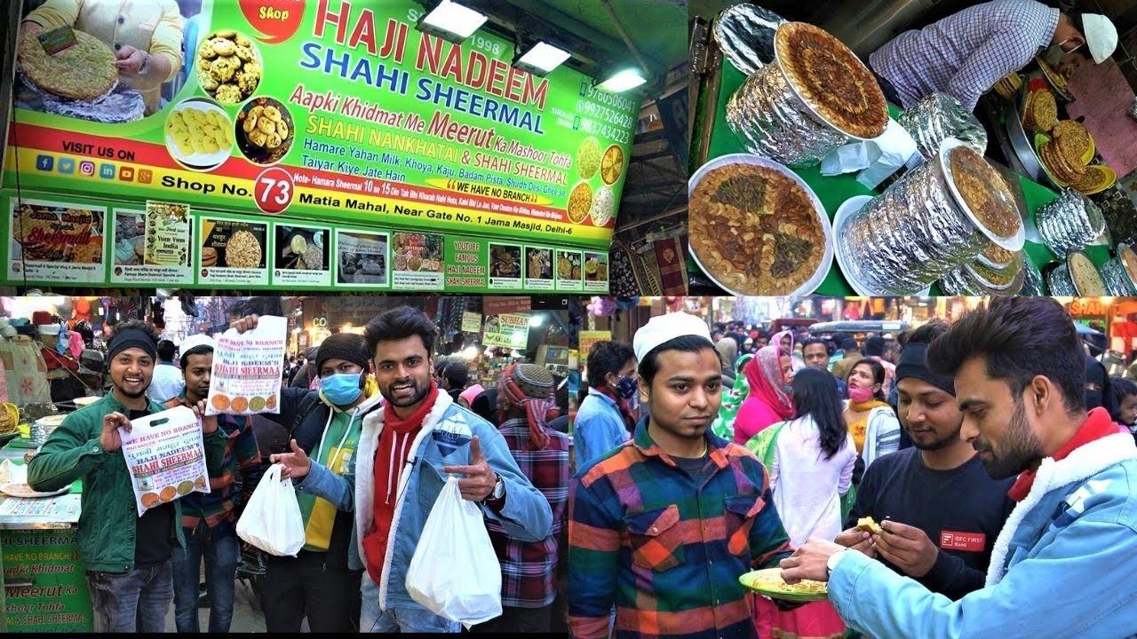 Download Haji Nadeem Shahi Sheermal | Dry Fruit Loaded Sweet Roti | Street Food | Swadist Zayka