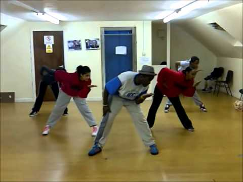 Major lazor  Pon de floor Dance routine  Rudy Mbunzama#1BLUD Crew