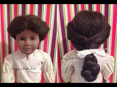 *Opening* American Girl Doll Addy + Hair Styling