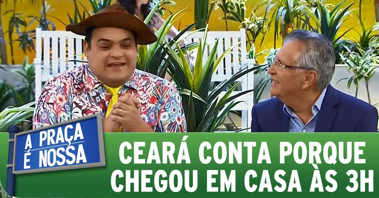A Praça É Nossa (29/10/15) - Matheus Ceará conta porque chegou em casa às 3h da manhã