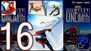 Spider Man Unlimited Android Walkthrough - Part 16 - Issue 3: Danger High Voltage