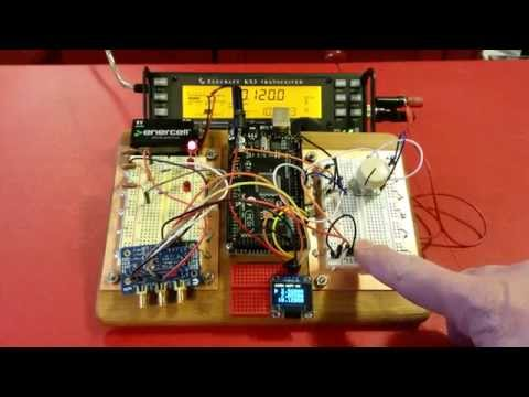 A 3 Band VFO using SI5351 and Arduino