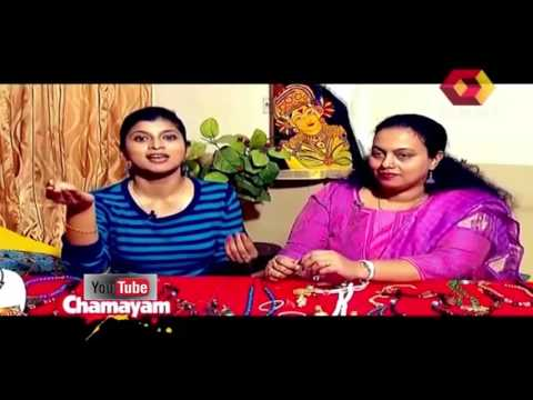 Chamayam | Creative home made jewellery antique polki designs | 14th February 2015 | Full Episode