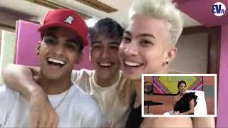 Chic al Día EVTV-  Los Boys en exclusiva desde Venezuela  08/17/18 Seg3