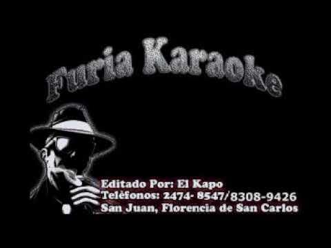 YA LO SE TODO GUERREROS BAND KARAOKE DEMO FURIA KARAOKE
