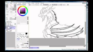I draw Saphira Dragoness part 1