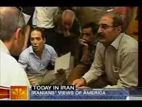How Iranians View America (Matt Lauer MSNBC)