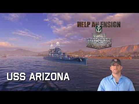 World Of Warships USS Arizona