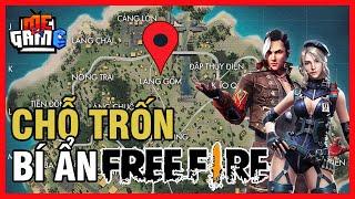 Top Chỗ Trốn Bí Ẩn Ít Người Biết Trong Free Fire | meGAME