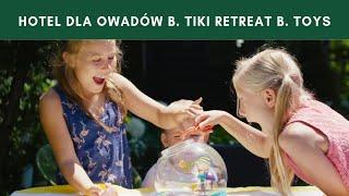 Hotel dla owadów zestaw do łapania i obserwacji owadów B. Tiki Retreat B. Toys