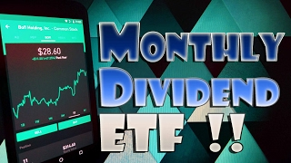 Robinhood APP - HIGH Dividend YIELD ETF with MONTHLY PAYOUT for NEW INVESTORS!