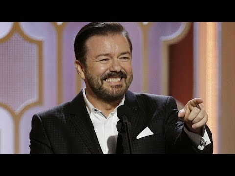 Ricky Gervais Slams Caitlyn Jenner In Golden Globes Monologue Youtube