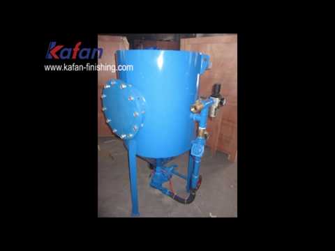 Portable Pressure Sandblasting Pot For Rust/Paint Removing