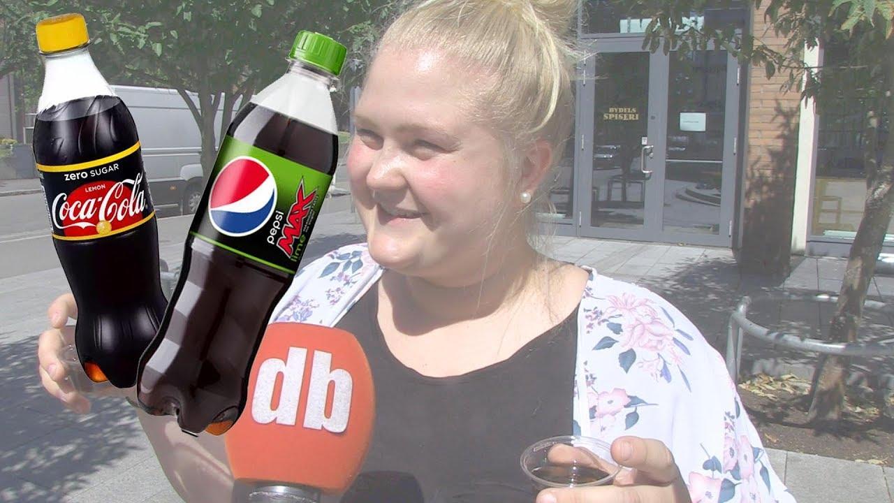 dfeb8539 Pepsi Max Lime og Coca Cola Zero Sitron - Vi har smakt på den nye Pepsi Max  med lime - kan den måle seg med Coca-Cola Zero sitron? - Dagbladet
