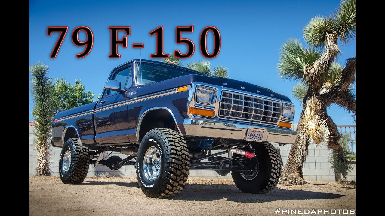 79 Ford F150 Restored On Km3 35 Quot Youtube