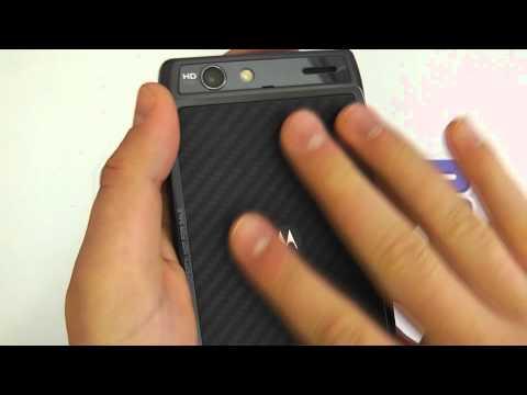 Motorola RAZR (XT910) Android Smartphone Hardware Tour