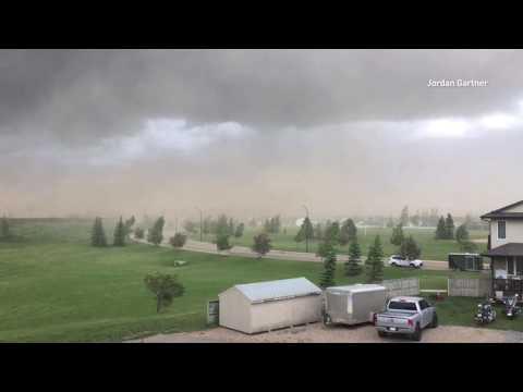 Compilation: Red Deer, Alberta storm | June 20, 2017