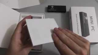 Android 4.2.2 Quad Core Mini PC Unboxing (MK908)