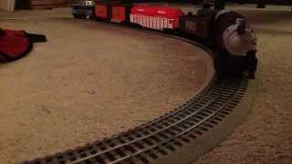 Hershey Train Set Under Christmas Tree