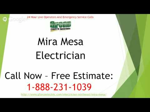 Thumbnail for Now providing electrician services for san marcos, mira mesa, la mesa, and poway!