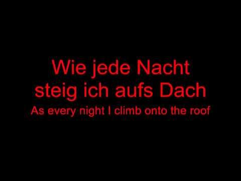 Rammstein - Stirb Nicht Vor Mir (Demo) lyrics and English translation