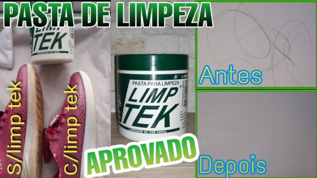 PASTA DE LIMPEZA LIMP TEK| LIMPADOR DE USO GERAL