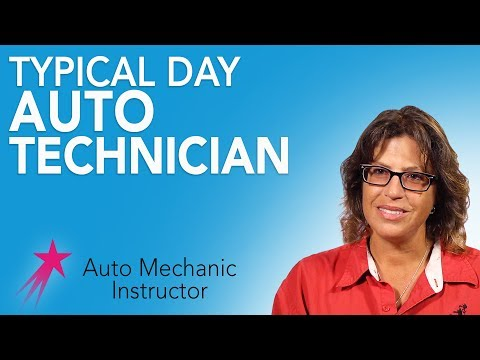 Auto Mechanic Instructor: Typical Day - Dorothy Jean Anderson Career Girls Role Model