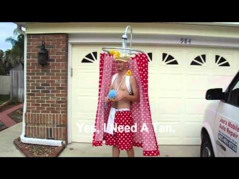 Karate Kid Shower Curtain Costume Halloween 2011 Contest