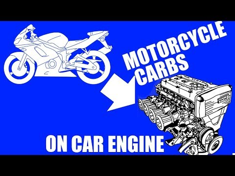 Bike carbs (ITBs) on car engine - the plan