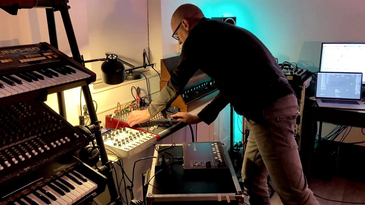 Rehearsing for the LudoWic Livestream Katana ZERO Soundtrack