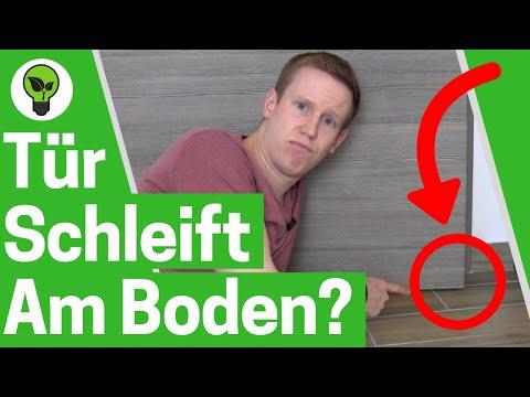 Tür schleift am Boden? ✅ ULTIMATIVE ANLEITUNG: Schleifende Zimmertür mit Fitschenringe einstellen!!!