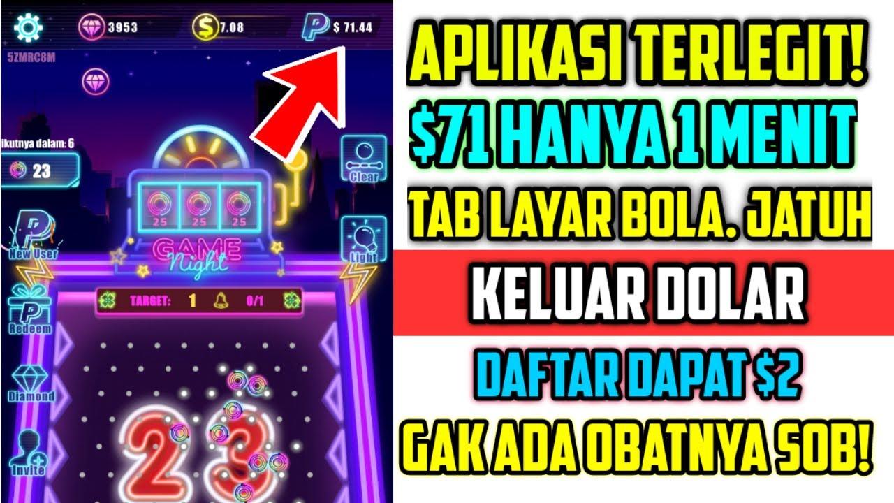 Dapat Uang Mudah Banget! Main Game dapat Dolar - 1 menit dapat $71 Terbukti Membayar