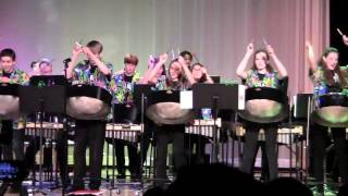 MVHS Steel Drum 1 Performs The SpongeBob SquarePants Theme Song