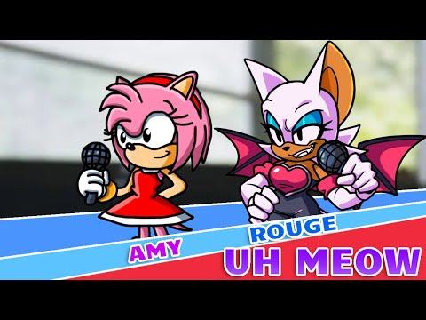 Sonic The Hedgehog Movie 2 Among Us Uh Meow All Designs Compilation (Shadow & Rouge) 2