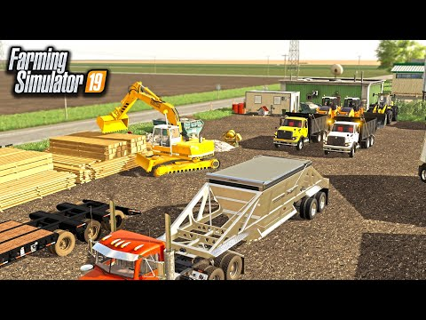 BUILDING A RACE TRACK FROM SCRATCH! (ROLEPLAY) | FARMING SIMULATOR 2019