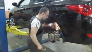 Замена обломанной шпильки заднего колеса смотреть
