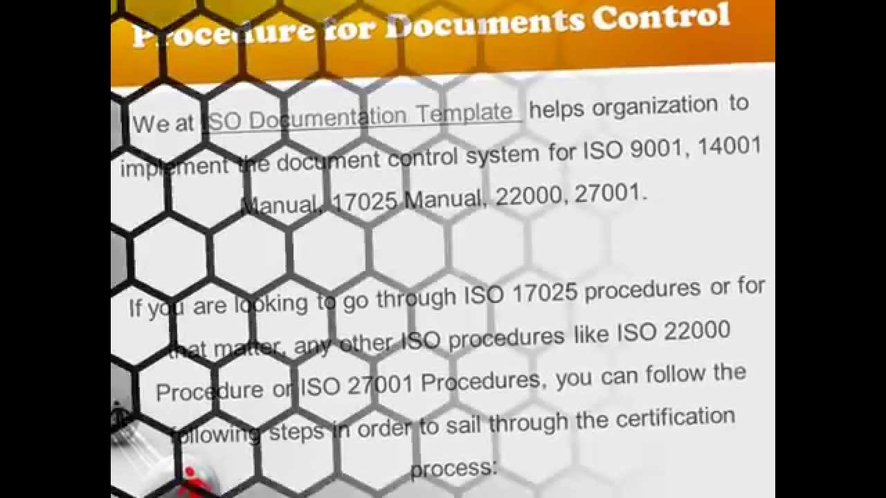 ISO procedure for Document Control - YouTube