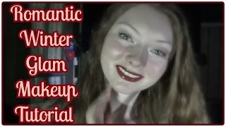 Romantic Winter Glam Makeup Tutorial ft. The All Natural Face Thumbnail