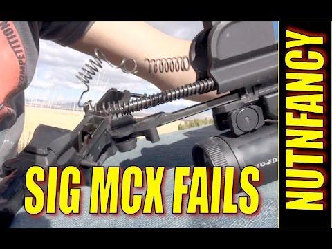 Sig MCX Fails Unexpectedly