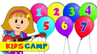 Counting 1 to 10 Numbers Song With Elly And More Nursery Rhymes by KidsCamp