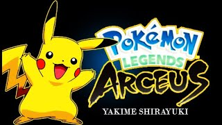 Pokemon Legends Arceus Trailer!Gba!?