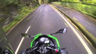 riding german twistys- Ninja 300