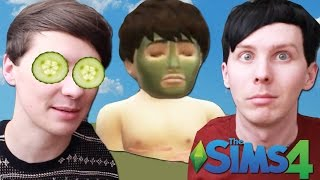 DIL HAS A SPA DAY - Dan and Phil Play: Sims 4 #27(COME SEE US ON TOUR IN THE USA! http://www.danandphiltour.com Subscribe for a free mud bath: ..., 2016-04-21T22:16:30.000Z)