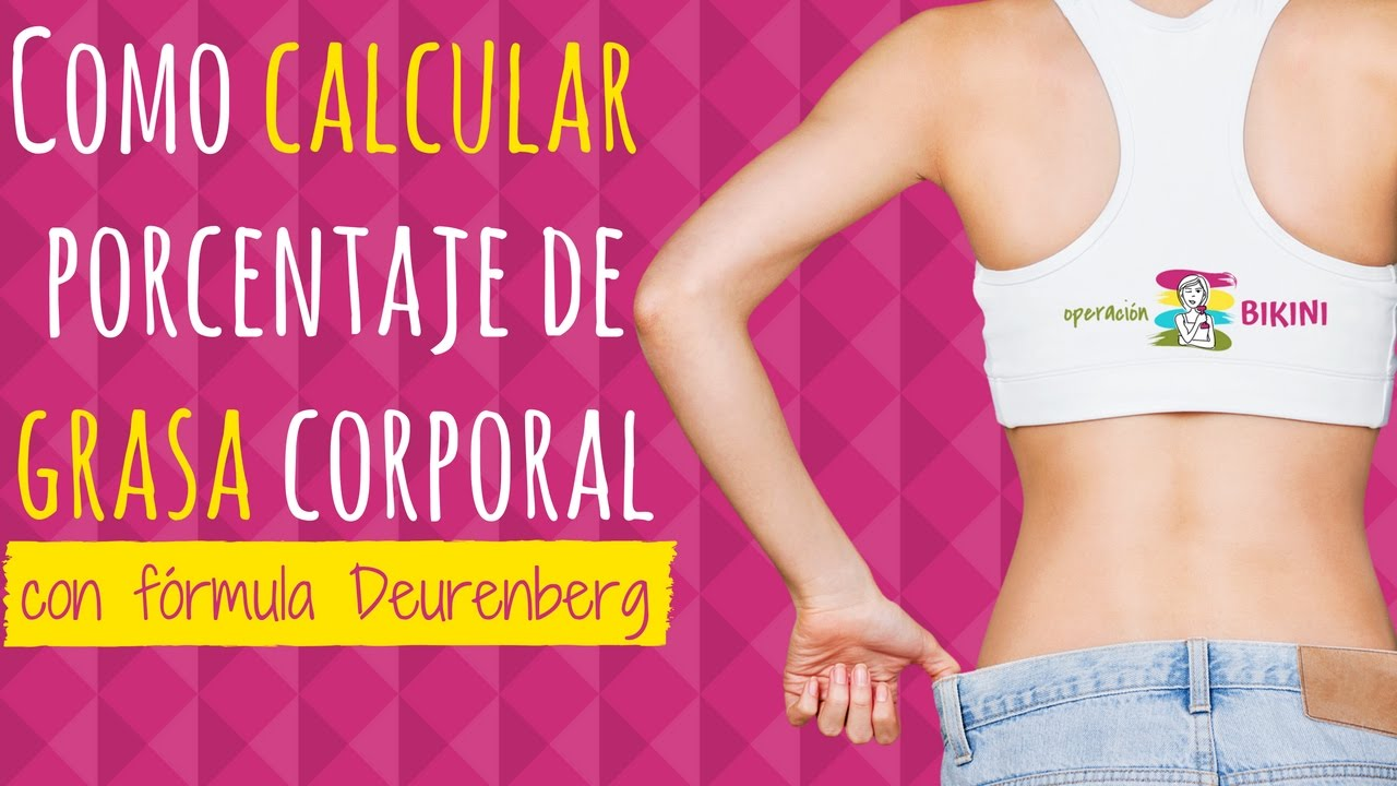 medir tu indice de grasa corporal