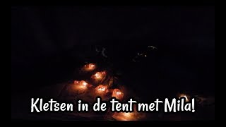 ASMR Kletsen In De Tent Met Mila Nederlands Dutch ASMR Mandy Denise