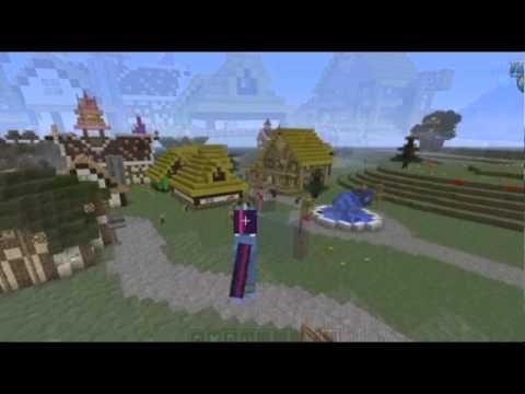 Mine Little Pony Mod For Minecraft 1.6.4/1.6.2/1.5.2