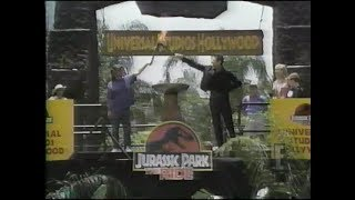 Jurassic Park- The Ride: E! Live Premiere Special (June 15, 1996)