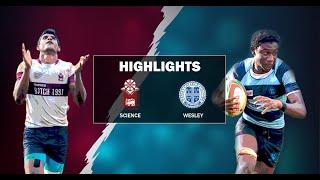 Match Highlights - Science College v Wesley College 2019