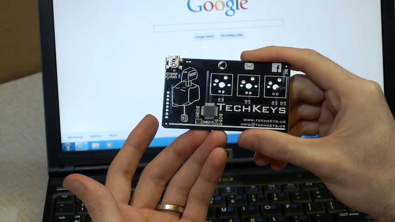 Techkeys business card youtube colourmoves