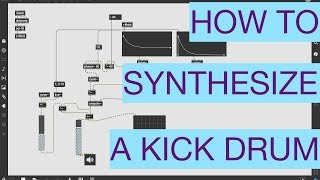 MAX   Kick Synth [Full Lesson]